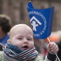 Flagge zeigen für den Kinderschutzbund