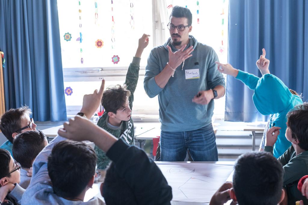 Diskussion im Workshop